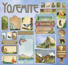 Yosemite Cardstock Stickers - $3.49