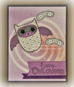Gina's Little Corner of StampinHeaven: August Stamp of the Month - What a Hoot