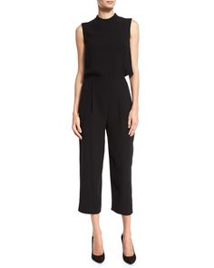 Tali Popover Sleeveless Jumpsuit