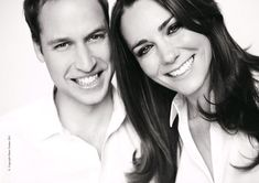 William and Kate. Photo from the official programme of the royal wedding of the marriage of H.R.H. Prince William of Wales, K.G. with Miss Catherine Middleton, Westminster Abbey, 29 April 2011.