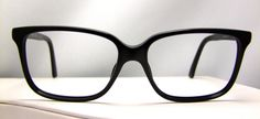 Vintage Gucci Eyeglasses Made in Italy, Style 1643  807 Excellent  black optical frames. $105.00, via Etsy.
