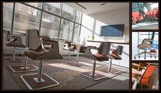 Deutsche Büro Stühle