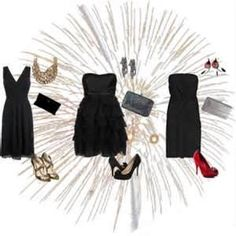 Image Search Results for accessorizing a little black dress