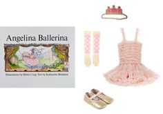 Wovenplay ribbon socks, $28babyswag.comWovenplay Couronne in hot pink, $48wovenplay.comAngel's Face pink tulle dress with frilled straps, $102melijoe.comPetit Nord glittery leather elasticated ballerina slippers, $65smallable.com - Photo: (Clockwise from left) Courtesy of babyswag.com; Courtesy of wovenplay.com; Courtesy of melijoe.com; Courtesy of smallable.com