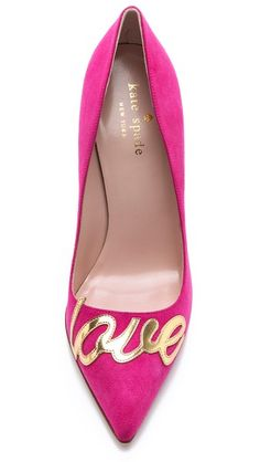 Kate Spade New York Suede Love Pumps