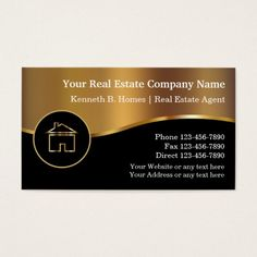 510 Real Estate Business Cards Ideas