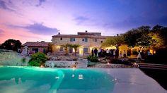 ~ Reception and wedding venue in Orgon, Provence - Mas de la Rose