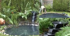 Garden ponds 491947959275615742 - How to Build a Garden Pond or Fish Pond Source by itsmenev Jardin Vertical Diy, Vertical Garden Diy, Diy Garden, Garden Ideas, Bottle Garden, Water Garden, Diy House Projects, Garden Projects, Nova Scotia