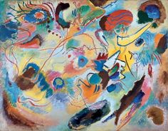 Wassily Kandinsky Study for Composition VII 1913
