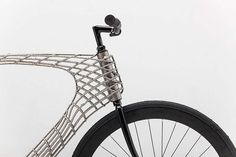 Arc Bicycle has 3D-printed steel frame  , - ,   Five students cr...