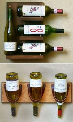 Wall Mounted Wine Rack <3