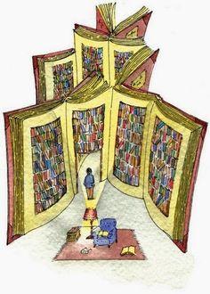 O cão que comeu o livro...: 9 ilustrações de bibliotecas pessoais / 9 personal libraries illustrations
