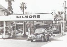 Gilmore Gas Station - San Diego, 1941