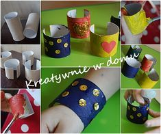 5 sposobów na prezent dla Babci z wykorzystaniem papierowego talerzyka   Kreatywnie w domu Napkin Rings, Planter Pots, Mugs, Tableware, Decor, Ideas, Dinnerware, Decoration, Tumblers