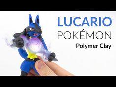 Lucario Pokémon Polymer Clay Tutorial