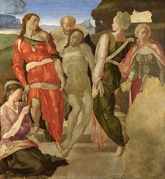Archivo: Michelangelo.jpg Entierro