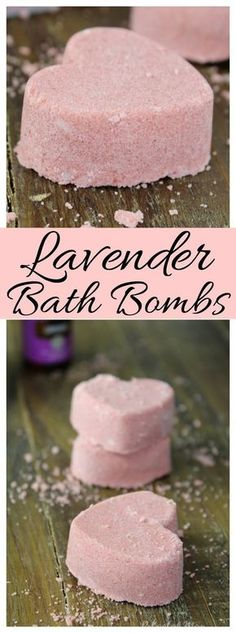 These Lavender Bath Bombs are incredibly easy to make - just 3 simple ingredients plus a few drops of your favorite Essential Oils!