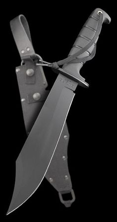 Ontario Spec Plus Marine Raider Bowie Fixed Tactical Knife Blade by Ontario Knife Co