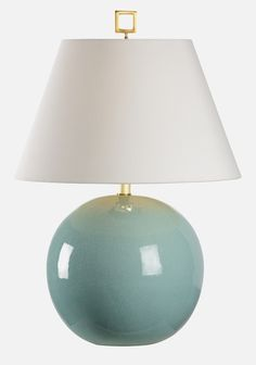 69041 Morrow Lamp Celadon by Chelsea House * Add Style with Designer Table Lamps at FineHomeLamps.com * Free Shipping, No Tax * Visit Today! Bedroom Lamps, Home Decor Items, Wall Sconces, Floor Lamp, Chelsea, Chandelier, Led, Lights, Mirror