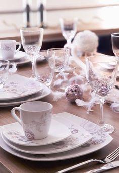 Déco de table de Noël - Décoration de Table pour Noël et le Réveillon - Tables de fêtes
