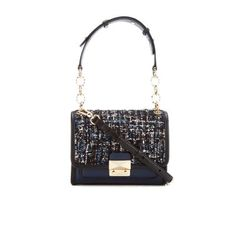 ba2196b63eb7 Buy Karl Lagerfeld Women s K Kuilted Tweed Mini Handbag - Midnight Blue  here at MyBag - the only online boutique you ll need for luxury handbags  and ...