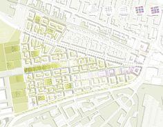 Stadt Land Fluss Büro für Städtebau und Stadtplanung / Schumacher-Quartier Berlin / 2. Preis: Masterplan 1:1000