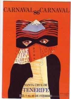 cartel carnaval 86 santa cruz de tenerife