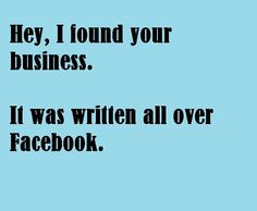 If ya don't want people in your business, don't share it on Facebook.