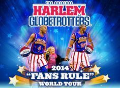 GIVEAWAY!! WIn a Family 4-pack of Tickets to the Harlem Globetrotter's : Macaroni Kid