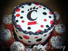 University of cincinnati on pinterest cincinnati bengals for Cake craft beavercreek ohio