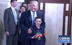 10 year old gives the White Power sign ! Screen Shot 2017-03-07 at 12.52.33 PM