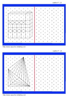 Géométrie : Reproduction de figures sur papier à points