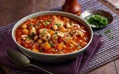 Moroccan-Style Chicken Soup Recipe