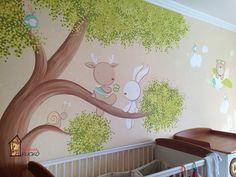 Baby Room Decor, Nursery Decor, Diy And Crafts, Crafts For Kids, Cartoon Dinosaur, Baby Painting, Kids Bedroom, Wall Art, Home Decor