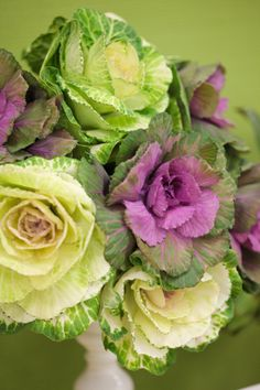 Can't get enough of this Cabbage Bouquet