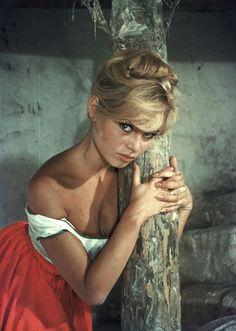 "♥ glorious-queens: ""Brigitte Bardot photographed by Peter Basch "" Brigitte Bardot, Bridget Bardot, Marlene Dietrich, Greta, Provocateur, French Actress, The Bikini, Mannequins, Belle Photo"