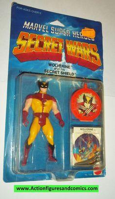 secret wars WOLVERINE vintage 1984 mattel x-men moc action figures marvel super heroes