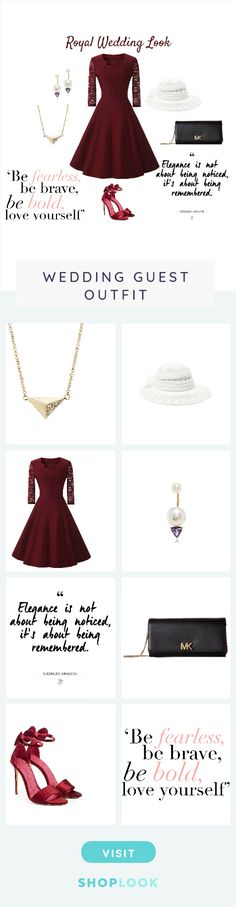 Royal Wedding Look created by joy_mak on ShopLook.io perfect for Wedding Guest. Visit us to shop this look. Wedding Looks, Joy, Formal Dresses, Outfits, Design, Women, Fashion, Dresses For Formal, Moda