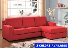 Vogue Sectional 3 Colors - Living