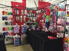 Vendor display booth craft show set up #Bowtifulblessings
