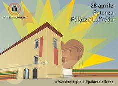 L'invasione digitale di Potenza | Palazzo Loffredo | Domenica dalle 10.30