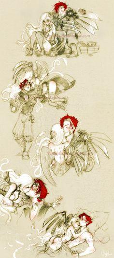 Belphe and Rusty by Nephyla on deviantART