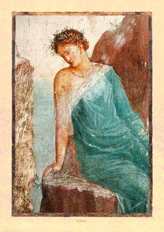 Trauernde Nymphe, Villa Imperiale in Pompeji