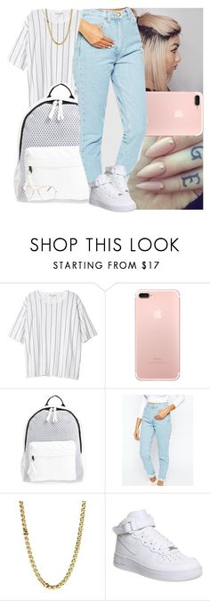 """""""Fall #13🃏"""" by msixo ❤ liked on Polyvore featuring Monki, Poverty Flats, American Apparel, Lauren Ralph Lauren and NIKE"""