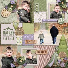 Nature Is My Home - Scrapbook.com