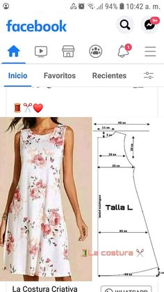Dress Sewing Patterns, Clothing Patterns, Sewing Blouses, Couture Sewing, Sewing Basics, Diy Dress, Fashion Sewing, Sewing Tutorials, Dressmaking