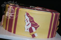 Image detail for -Florida State Seminoles cake created for a groom's cake in Plant City ...