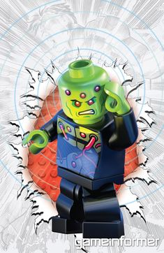 DC Comics Getting Lego-ized Covers, We've Got Two Exclusives Here - News - www.GameInformer.com