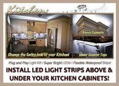 How To Install Led Light Strips Glamorous Undercabinet Led Light Strip Installation  Beautiful  Youtube Design Ideas
