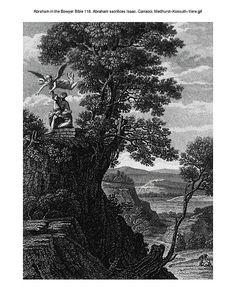 Abraham in the Bowyer Bible 118. Abraham sacrifices Isaac. Carracci. Medhurst-Kossuth-Vere on Flickr.Abraham in the Bowyer Bible 118. Abraham sacrifices Isaac. Carracci. Medhurst-Kossuth-Vere